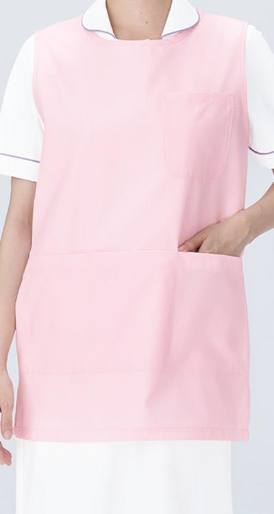 カゼン エプロン(ショート丈)(男女兼用)販売。刺繍、プリント加工対応します。研修医、医療チームウェアに人気