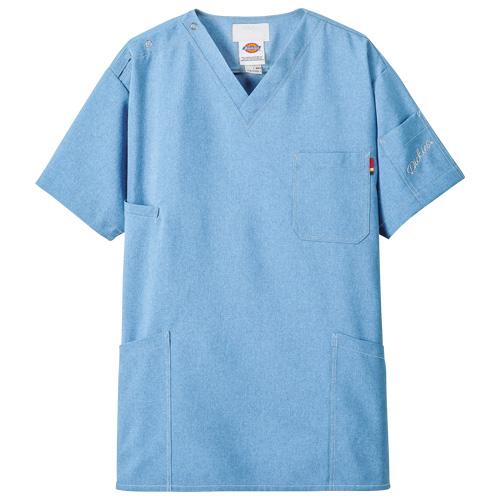 ディッキーズ スクラブ(男女兼用)販売。刺繍、プリント加工対応します。研修医、医療チームウェアに人気