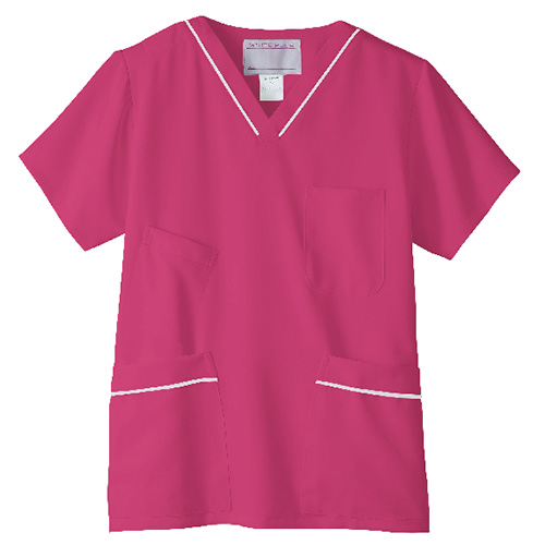 スクラブ(男女兼用)<旧・高浜ユニフォーム>販売。刺繍、プリント加工対応します。研修医、医療チームウェアに人気
