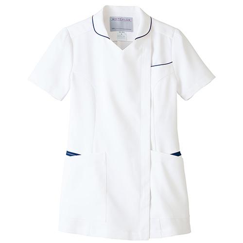 レディスジャケット半袖<旧・高浜ユニフォーム>販売。刺繍、プリント加工対応します。研修医、医療チームウェアに人気