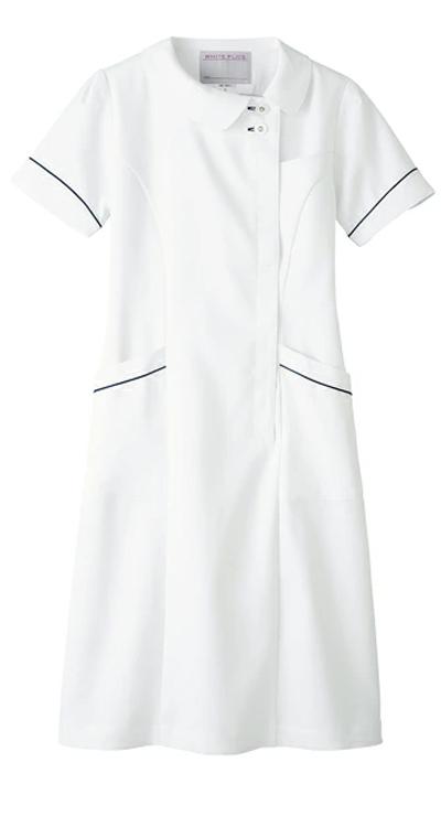 ワンピース半袖<旧・高浜ユニフォーム>販売。刺繍、プリント加工対応します。研修医、医療チームウェアに人気