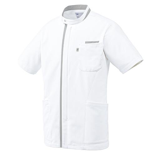 ミズノ ケーシージャケット(メンズ)販売。刺繍、プリント加工対応します。研修医、医療チームウェアに人気