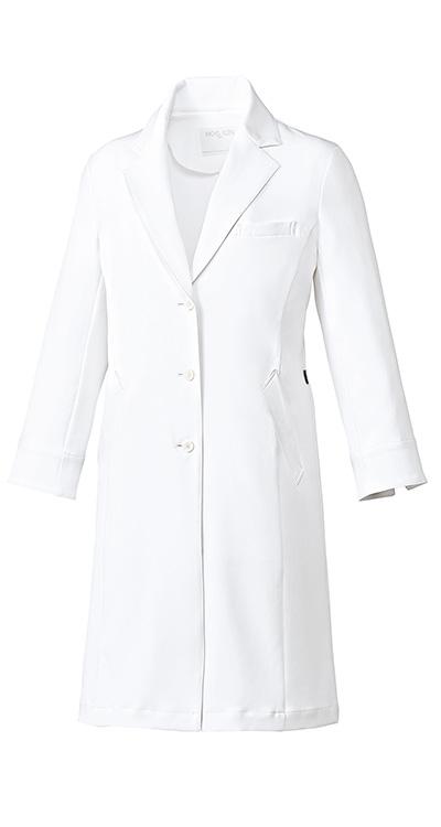 ミッシェルクラン レディースドクターコート/白衣販売。刺繍、プリント加工対応します。研修医、医療チームウェアに人気