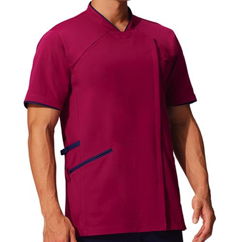 カゼン スクラブジャケット(男女兼用)販売。刺繍、プリント加工対応します。研修医、医療チームウェアに人気