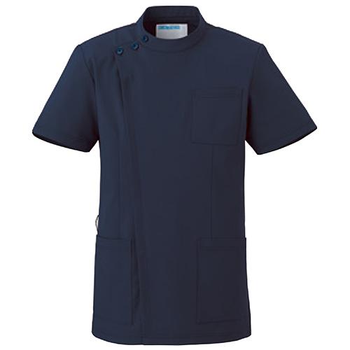 カゼン ジャケット半袖(男女兼用)販売。刺繍、プリント加工対応します。研修医、医療チームウェアに人気