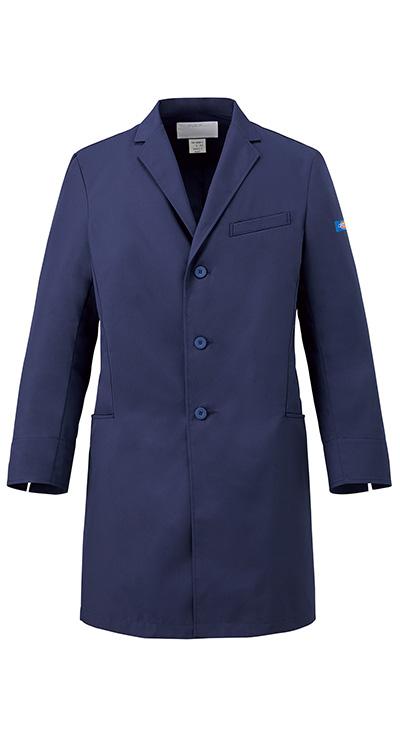 ディッキーズ メンズシングルコート販売。刺繍、プリント加工対応します。研修医、医療チームウェアに人気