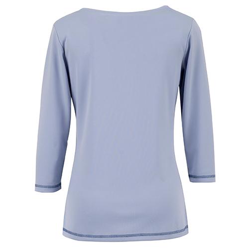 ●デザイン性の高いオシャレなステッチが施された袖口と裾 袖口と裾に配色のステッチを施すことで、オシャレも楽しめるデザインに。