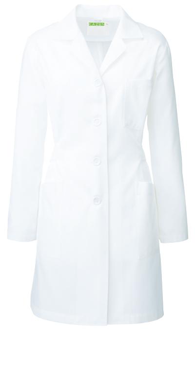 カゼン レディス診察衣/白衣(ハーフ丈)販売。刺繍、プリント加工対応します。研修医、医療チームウェアに人気