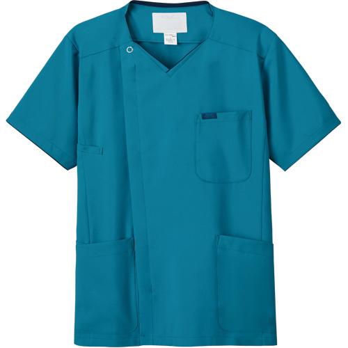 メンズジップスクラブ販売。刺繍、プリント加工対応します。研修医、医療チームウェアに人気