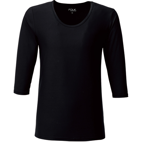 メンズカットソー(8分袖)販売。刺繍、プリント加工対応します。研修医、医療チームウェアに人気