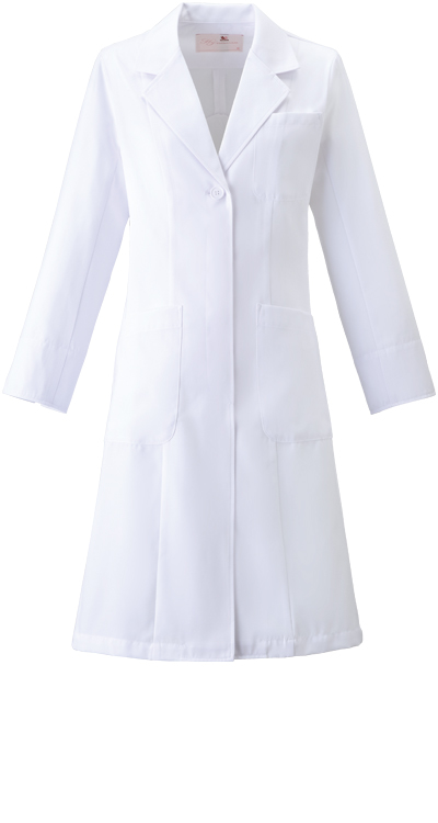 ワコール レディスコート/白衣販売。刺繍、プリント加工対応します。研修医、医療チームウェアに人気