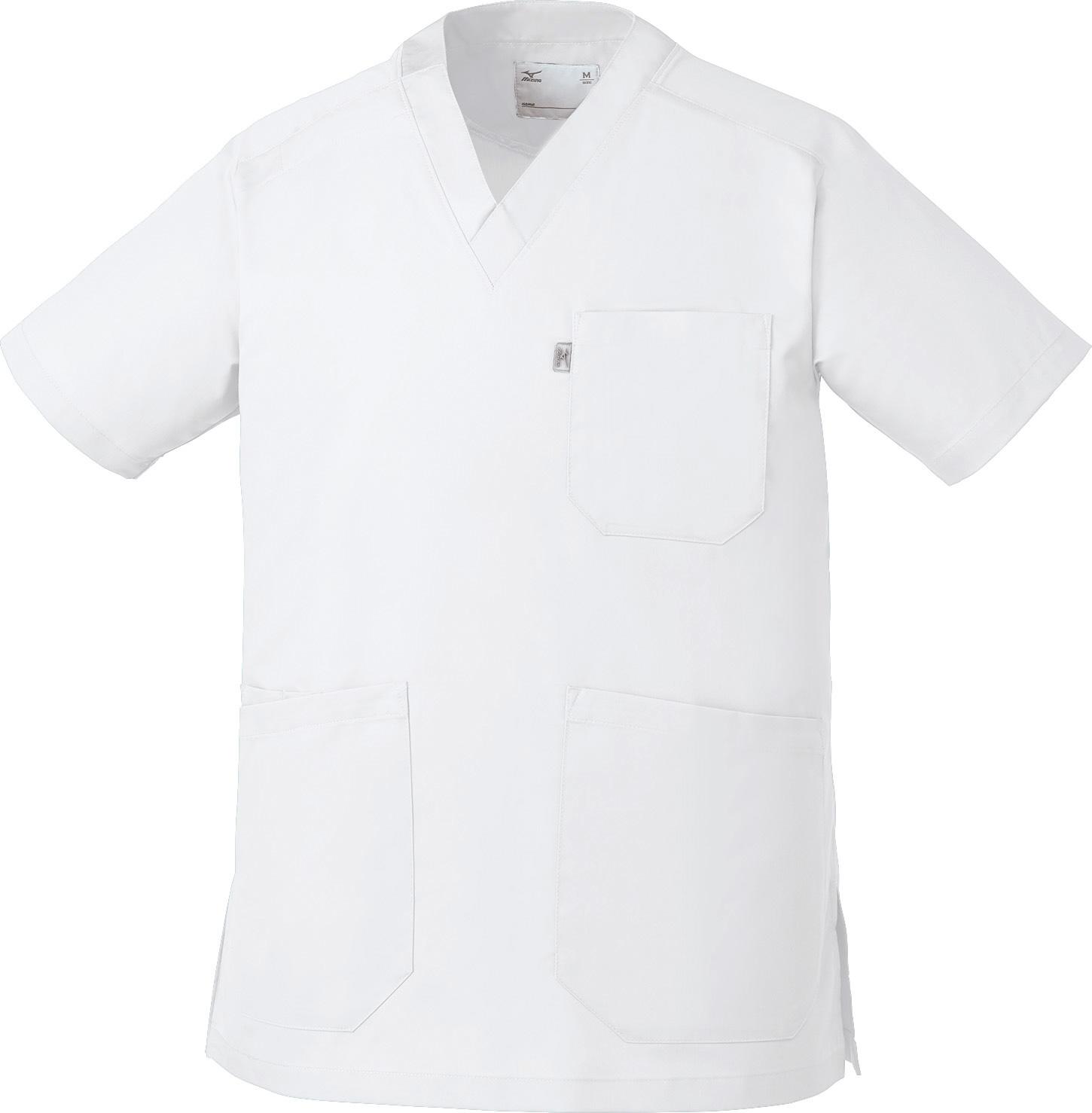 ミズノ ストレッチスクラブ(男女兼用)販売。刺繍、プリント加工対応します。研修医、医療チームウェアに人気