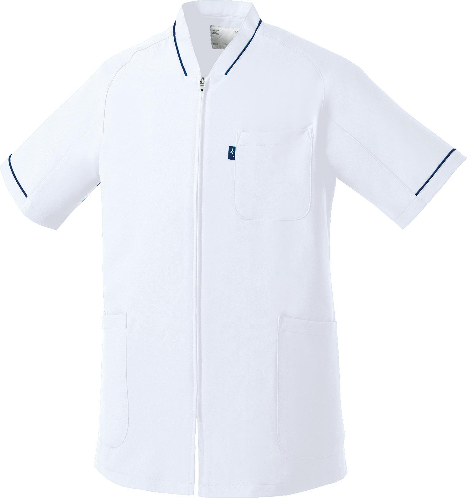 ミズノ ファスナースクラブ(男女兼用)販売。刺繍、プリント加工対応します。研修医、医療チームウェアに人気