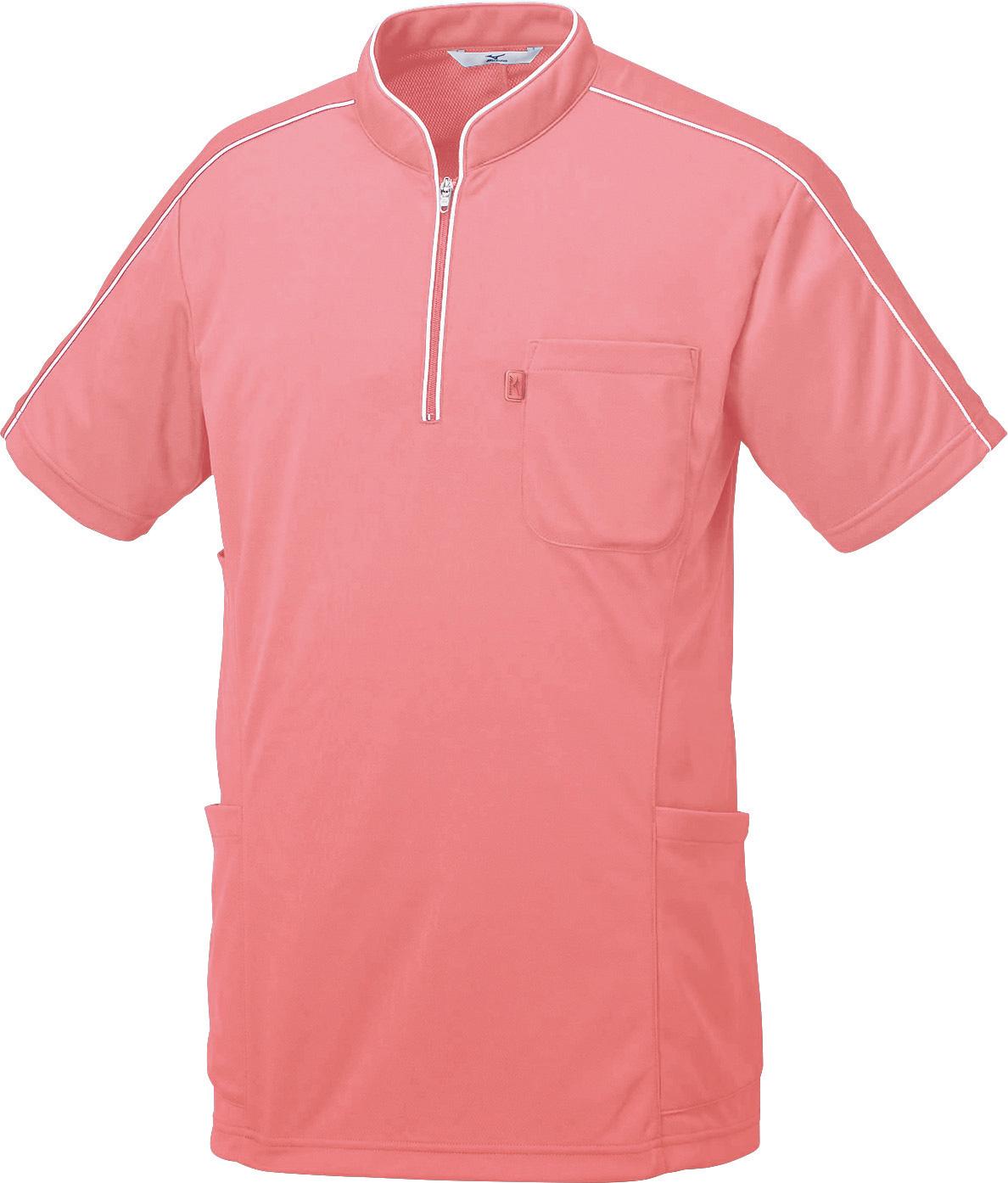 ミズノ ニットシャツ(男女兼用)販売。刺繍、プリント加工対応します。研修医、医療チームウェアに人気