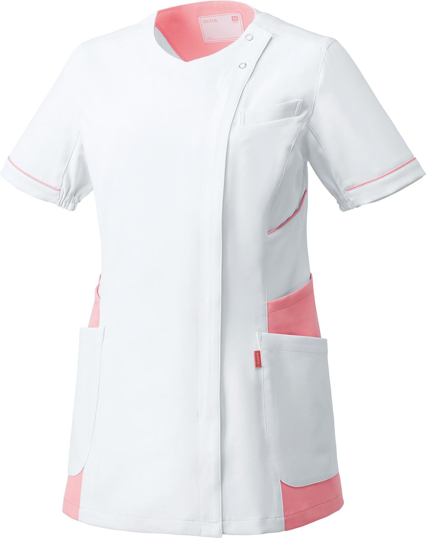チュニック[女]販売。刺繍、プリント加工対応します。研修医、医療チームウェアに人気