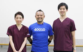 丸井先生、後藤先生、水野先生