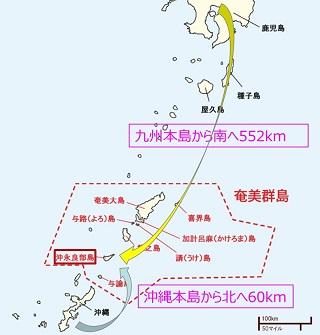沖永良部島へのアクセス