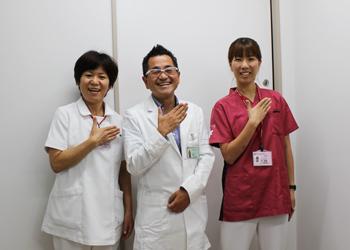 平野先生林看護師