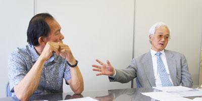浦上さんと吉田先生