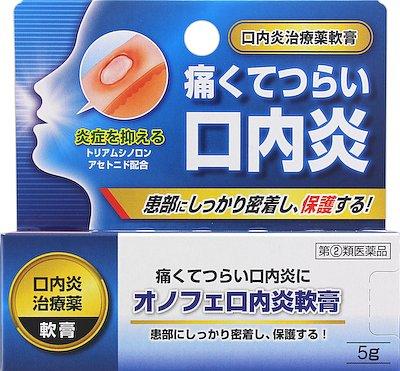 オノフェ口内炎軟膏の写真