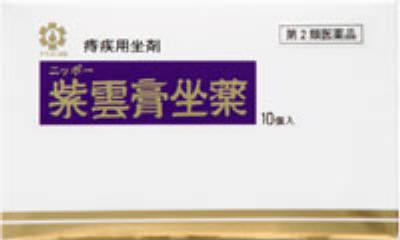 ニッポー紫雲膏坐薬の写真
