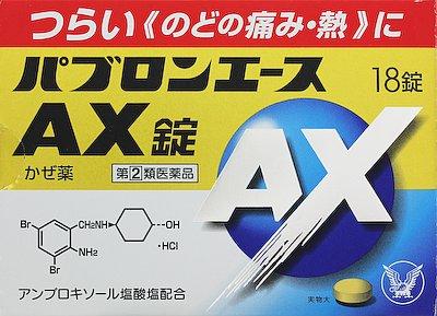 パブロンエースAX錠の写真