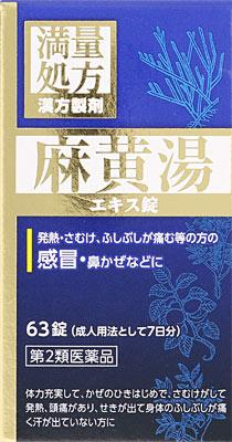 JPS麻黄湯エキス錠Nの写真