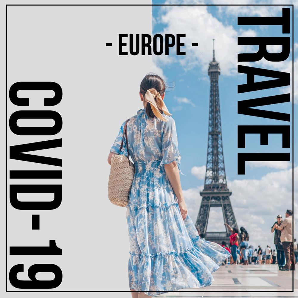 ヨーロッパ旅行はいつから行ける?コロナ禍の現状分かりやすく解説【2021年6月21日現在】