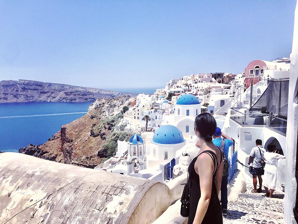 旅行記| 憧れの旅?紺碧のエーゲ海・サントリーニ島