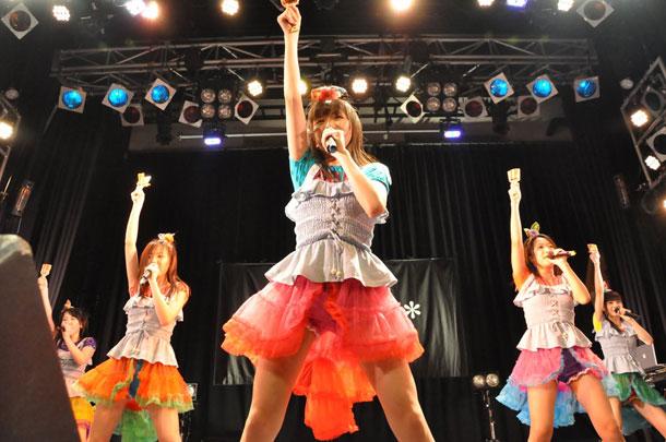 東京女子流 ツアーファイナル野音は生バンド、新たな初披露曲も