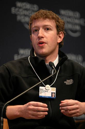 Facebook創業者フランツ・ザッカーバーグ