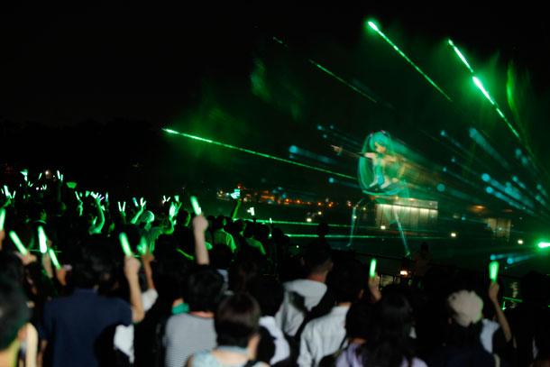 「夏の終わりの39祭り」開催「初音ミク -Project DIVA- f」OPテーマもパフォーマンス