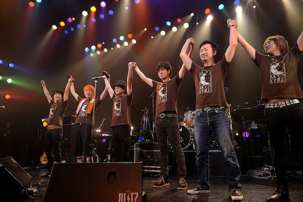 MOON CHILD 14年ぶり再結成ライブにオーディエンス熱狂