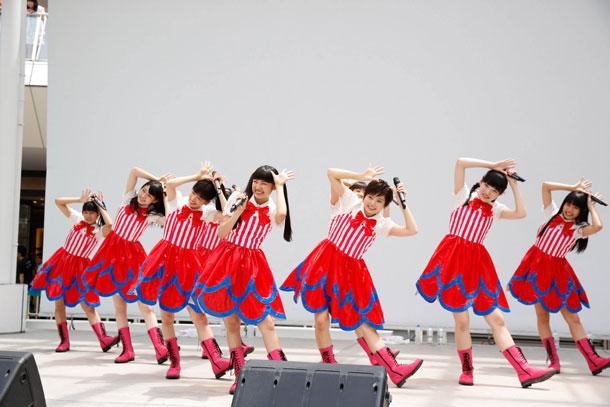 私立恵比寿中学 6月9日神奈川・ラゾーナ川崎プラザ ルーファ広場 グランドステージ