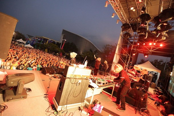 「Formoz Festival 2013」MAN WITH A MISSION