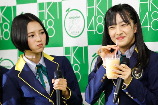 HKT48 2ndシングル「メロンジュース」発売記念スペシャルハイタッチ会