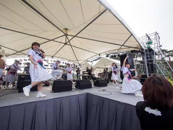 電撃BiS階段、夏の魔物ライブ