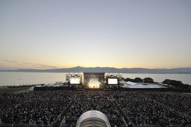 「イナズマロック フェス 2013」琵琶湖