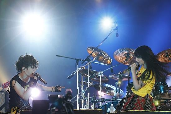 「イナズマロック フェス 2013」9月22日 T.M.Revolution×水樹奈々