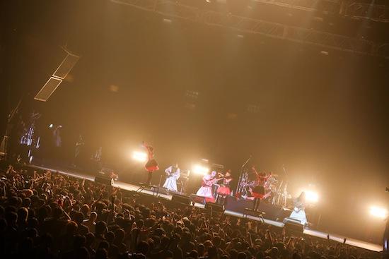 「LOUD PARK 13」BABYMETAL Photo by Taku Fujii