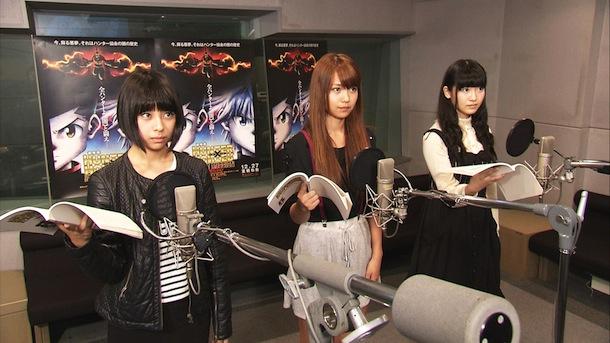 SUPER☆GiRLSメンバー3名が『劇場版HUNTER×HUNTER』に声優として出演決定