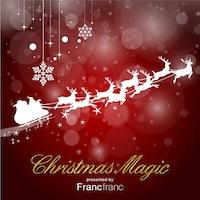 クリスマス・コンピレーション「Christmas Magic presented by Francfranc」