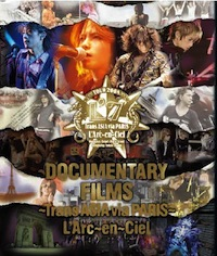 LArc〜en〜Ciel LIVE Blu-ray Disc 13「DOCUMENTARY FILMS 〜Trans ASIA via PARIS〜」