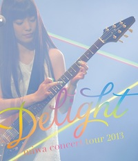 "「miwa concert tour 2013 ""Delight""」Blu-ray通常盤"
