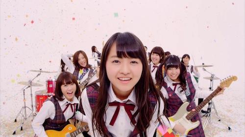 乃木坂46「生まれたままで」ミュージックビデオ