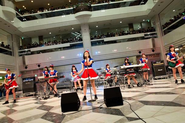 PASSPO☆、シングル「Perfect Sky」イベントでバンドver.初披露