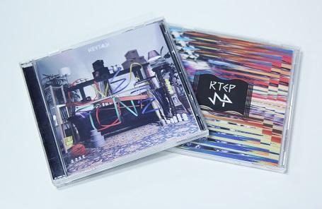 アルバム「OVERTONE」初回限定盤A付属「KTEP SP」アートワーク