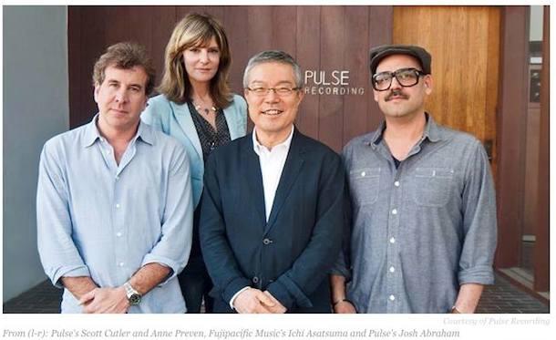 フジパシフィックミュージック・ウェスト(Fujipacific Music (West))社は、ロサンゼルスのパルス・レコーディング(Pulse Recording)