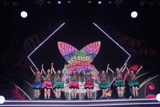 私立恵比寿中学スプリングソニー・ミュージックレーベルズルーキーツアー2014~生まれ変わりちょうちょうボーンとエトセトラ~」5月25日福岡・Zepp Fukuoka