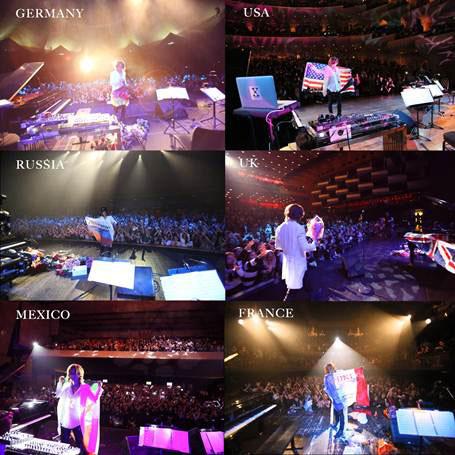 YOSHIKIソロワールドツアー「Yoshiki Classical World Tour」ライブ写真